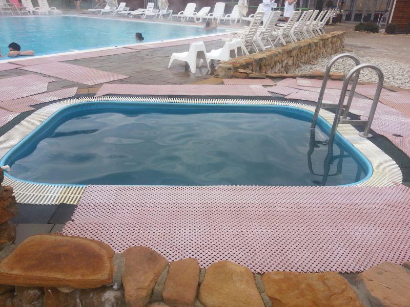 Купель с охлажденной водой