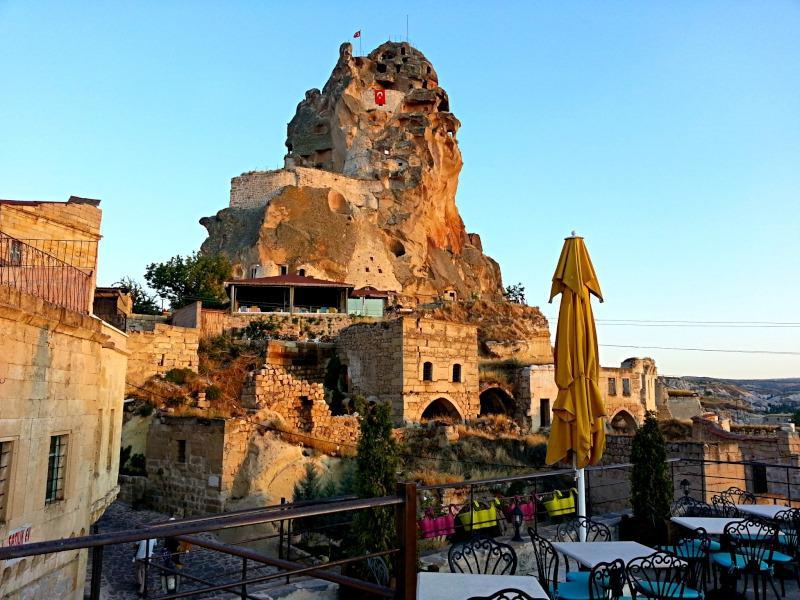 Крепость Ортахисар, Каппадокия, Турция