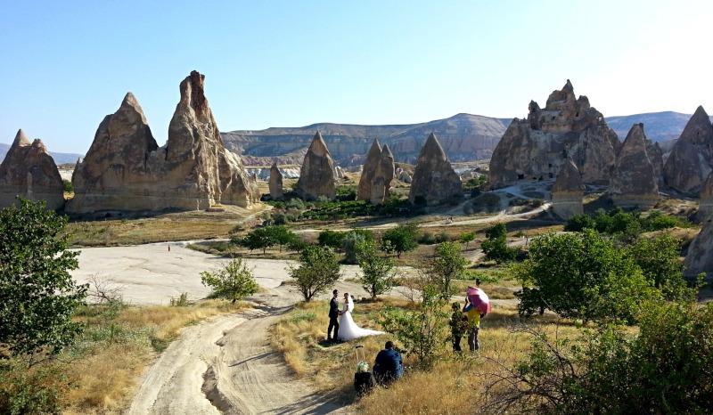 Национальный парк Гёреме, Каппадокия, Турция