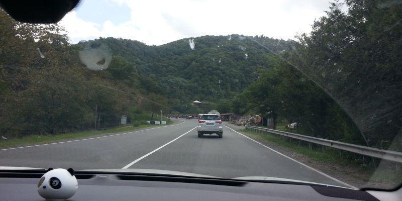 Дорога Тбилиси – Батуми. Участок Хашури – Зестафони