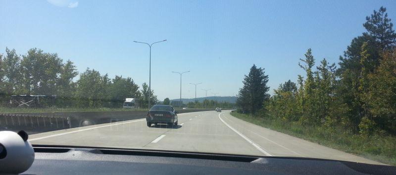 Дорога Тбилиси – Батуми. Участок Зестафони – развязка перед Кутаиси