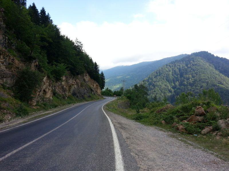 В районе деревни Тамдере в 67 км от Гиресуна